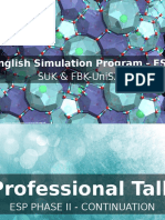 English Simulation Program - ESP (1)