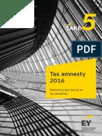 Ey Take 5 Tax Amnesty 2016