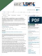 Annals of Internal Medicine _ Efectele Terapiei Antiplachetare Asupra Mortalității Și Rezultatele Cardiovasculare Si Sangera
