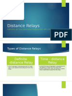 Distance Relay Basics