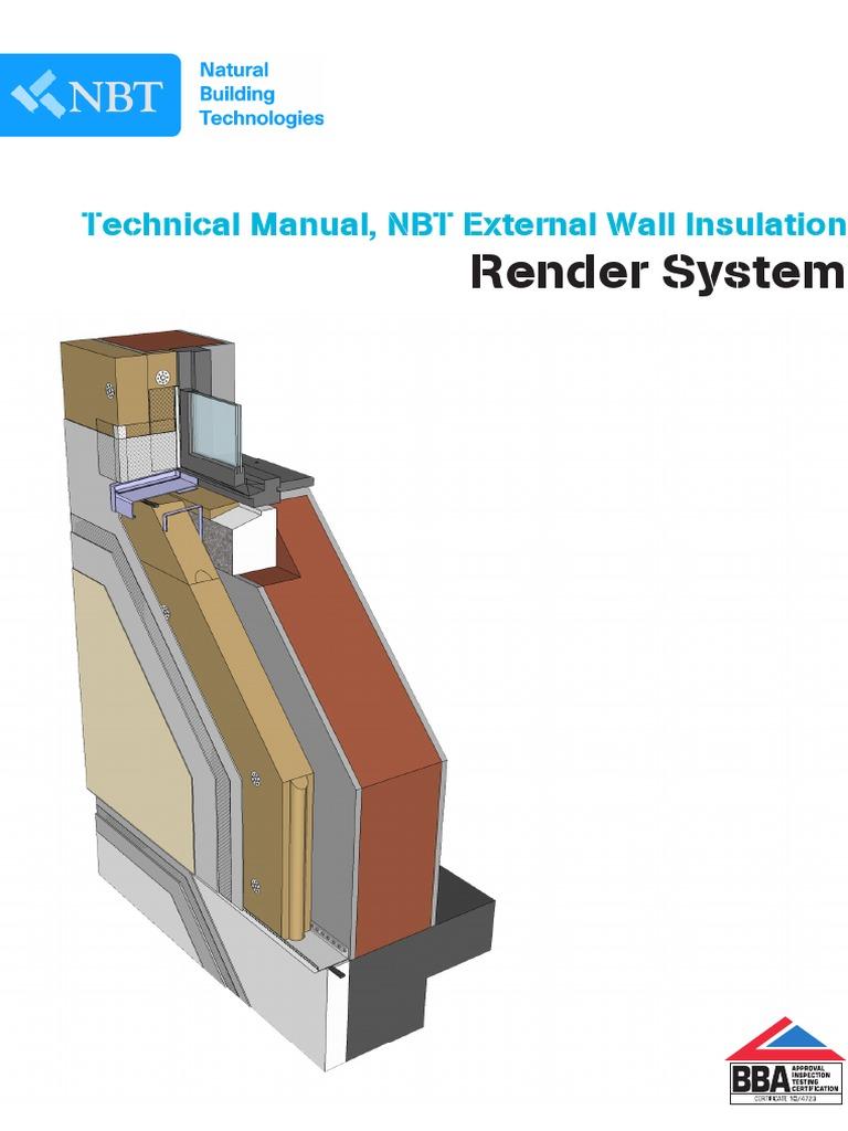 Technical Manual NBT External Wall Insulation   Building