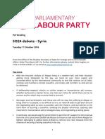 16.10.11 Syria SO24 Debate