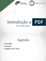 Introdução a Orientação a Objetos em Java