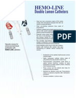 Hemant Surgical Double Lumen Catheters