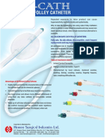 Hemant Surgical Safe-cath Silicone Folley Catheter