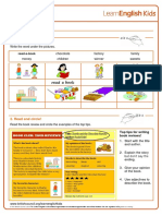 Writing Practice Book Review Worksheet