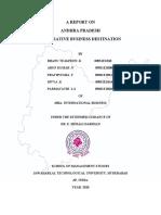 Andhra Pradesh State Report