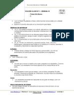 Planificacion de Aula Lenguaje 1BASICO Semana 10 2015