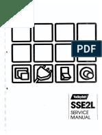 Valleylab SSE2L Electrosurgical Generator - Service Manual