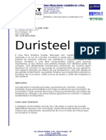 Especificacao Tecnica Duristeel