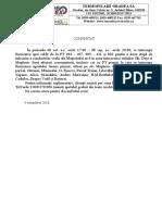 Cerere Comunicat Oprire PT-uri -Etapa 2 Lucrari Magheru 6 - 8 Oct 2016