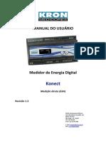 Medidor Digital de Energia Kron Konect