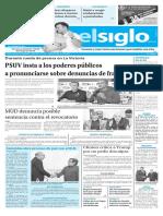 Edición Impresa El Siglo 11-10-2016