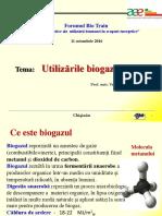 Utilizarile Biogazului - Final