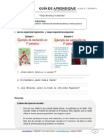 Guia de Aprendizaje Lenguaje 7BASICO Semana 1 2015