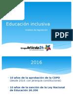 Análisis de La Ley Nacional de Educación