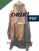 Oriki Egun - Awo Falokun