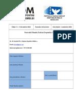 Formular de Participare Festival de Film