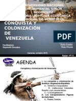 Conquista y Colonización de Venezuela