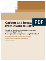 Carbon and inequality