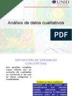 Variables Cualitativas