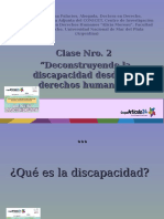 Clase Nro 1 Decostruyendo La Discapacidad Desde Los Derechos Humanos (1)
