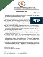 UNFC Stmt Eng on Current Fighting_ 8-Oct2016.pdf