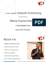 The Best Network Monitoring