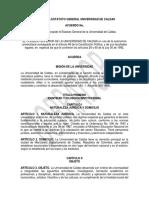 (borrador) Propuesta Estatuto General U. de Caldas - Abril 2016