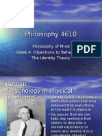 Philosophy 4610 - Week 4(1)