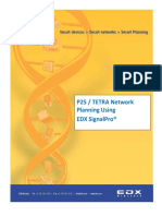 P25 TETRA Network Planning Using EDX SignalPro