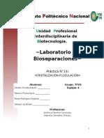 Bioseparaciones (Cristalización)