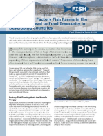 Expansion of Factory Fish Farms in the Ocean May Lead to Food Insecurity in Developing Countries