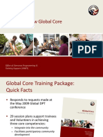 Peace Corps OST  Getting to Know Global Core