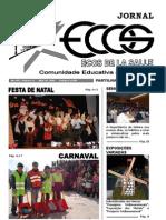 Capa - Jornal Ecos - 2.º Período - 2005-2006