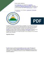 La República Federal de Centro América
