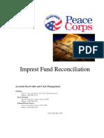 Peace Corps OST Imprest Fund Reconciliation Handout