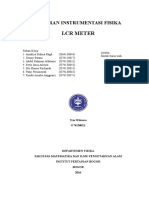 Laporan Infis LCR Meter