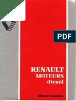 Renault Moteur Diesel Series MIDS MIVR