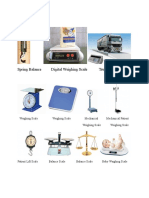 Weighing Instruments