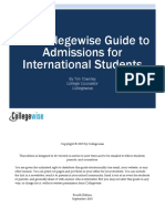 College Wise International Admissions Guide