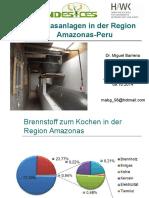 Biogasanlagen Amazonas