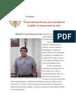 Nuevo Presidente de la JHHCC de la Semana Santa de Alzira