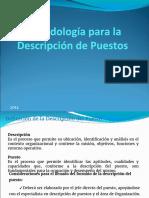Uvm Metodologia Descripcion de Puestos 2013