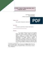 La madeja de Sofía Casanova. Representación, tesis y recepción crítica Laura Burgos Lejonagoitia