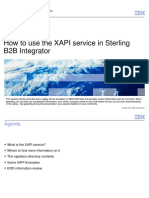 How to Use XAPI Service Webcast 7-16-2014 PP