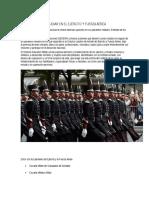 Opciones Para Estudiar en El Ejército y Fuerza Aérea