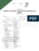 143872756 Control de Lectura Un Viejo Que Leia Novelas de Amor Fila A