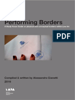 Performing Borders
