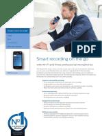 Philips SpeechAir Smart Dictation Voice Recorder